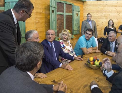 Poseta Šumadija sajmu ministra Milana Krkobabića
