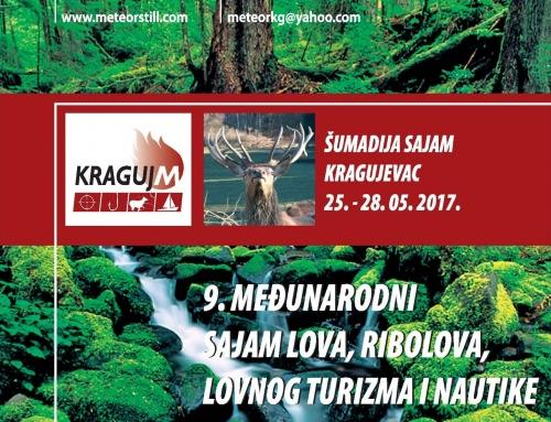 """Međunarodni sajam lova,ribolova ,lovnog turizma i nautike """"Kraguj M"""""""
