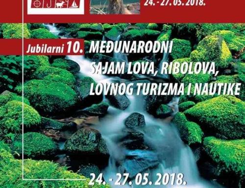 """Otvoren 10 po redu Jubilarni Sajam lova , ribolova, lovnog turizma i nautike """" Kraguj M"""""""