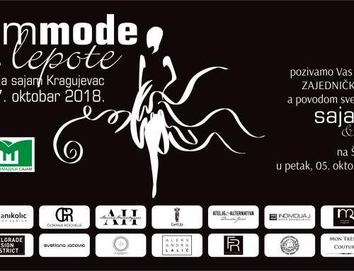Pozivamo Vas na svečano otvaranje sajma mode i lepote!
