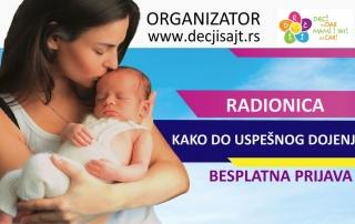 Radionica za podršku dojenju na Dečijem sajmu