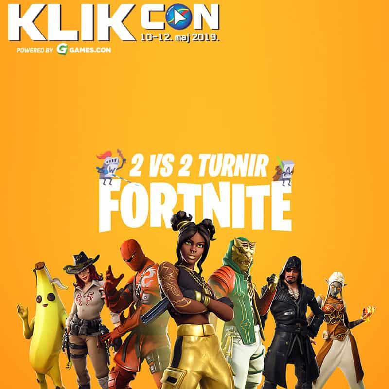KLIKcon fortnite-turnir