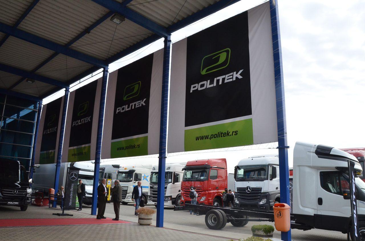 Sajam privrednih vozila - Transtek 2019